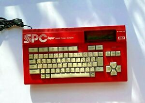 Sanyo - MSX - Sanno -  PHC-SPC - Primary Computer - Red - Rare