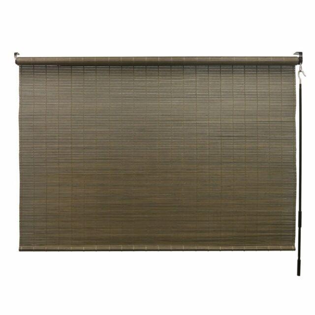 Matchstick Bamboo Roll Up Blinds