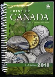 2018-COINS-OF-CANADA-Haxby-36th-Edition-by-Haxby-amp-Wiley-NEW-amp-SEALED