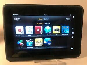 Amazon Kindle Fire HD 7 (2nd generación) 16GB, Wi-Fi, 7in-Negro Tableta
