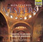 Monteverdi: Vespers of 1610 (CD, Dec-1997, 2 Discs, Telarc Distribution)