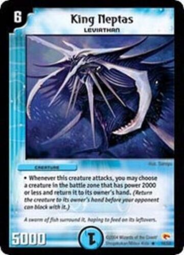 Duel Master King Neptas 16//55,Rampage of the Super Warriors DM-03