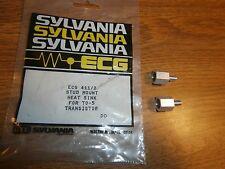 To 5 Stud Mount Transistor Heat Sink Ecg411 Lot Of 2pcsnosnip