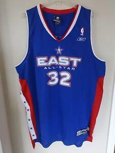21046571ac2 Vintage Reebok NBA Shaquille O'Neal Miami Heat # 32 2005 All Star ...