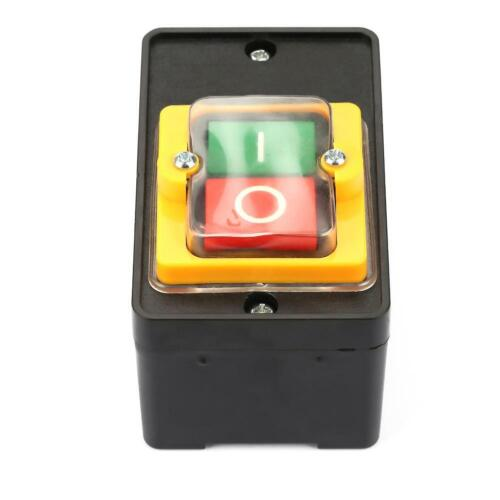 AC220V//380V 10A Waterproof ON//OFF Pushbutton Switch Push Button Practical