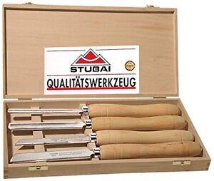 Qualitäts Drechselsatz Stubai HSS 709204 4-tlg