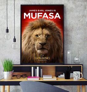 Disney The Lion King 2019 Movie Poster Professional Grade Gloss Photo Print Hd Ebay