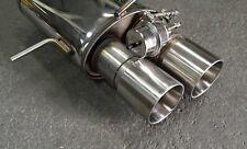 Klappenanlage Auspuff Abgasanlage Audi S4 und RS4 B5 76mm 2,7T Biturbo Klappe