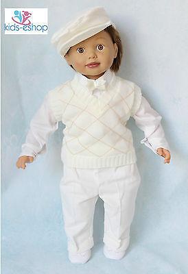 Intelligente Baby Boy Panna Smart Canotta Vestito Battesimo Occasione Speciale 0-18m-mostra Il Titolo Originale