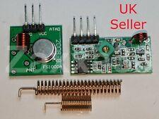 433 Mhz Rf Transmitter And Receiver Wireless Kit 2 Antenna Arduino Arm Mcu Pi