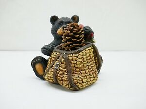 Black-Bear-Gone-fishing-tackle-basket-with-fish