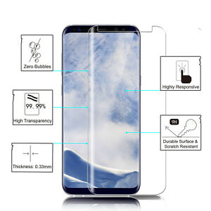 For-Samsung-Galaxy-S9-Plus-Tempered-Glass-Screen-Protector-3D-9H-Clear-Full-Film