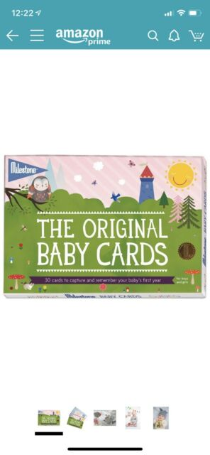 The Original Christmas Milestone Cards Milestone Baby/'s First Special Moments