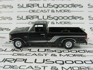 Greenlight-1-64-LOOSE-Black-1992-1993-FORD-F-150-F150-Pickup-Truck-w-Tow-Hitch