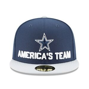 812986ced Dallas Cowboys New Era 2018 NFL Draft Spotlight Official 59FIFTY Hat ...