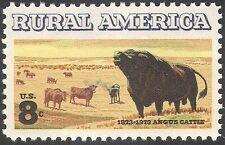 USA 1973 Angus Cattle/Cows/Bull/Farming/Animals/Nature 1v n29241