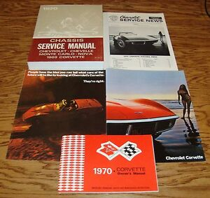 1970 chevrolet corvette service manual owners manual sales brochure rh ebay co uk 1970 corvette owners manual download 2012 Corvette