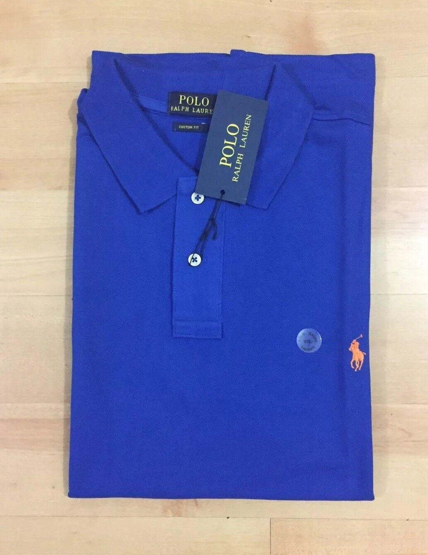 Ralph Lauren Polo T-Shirt Small Pony Short Sleeve Royal bluee size XL