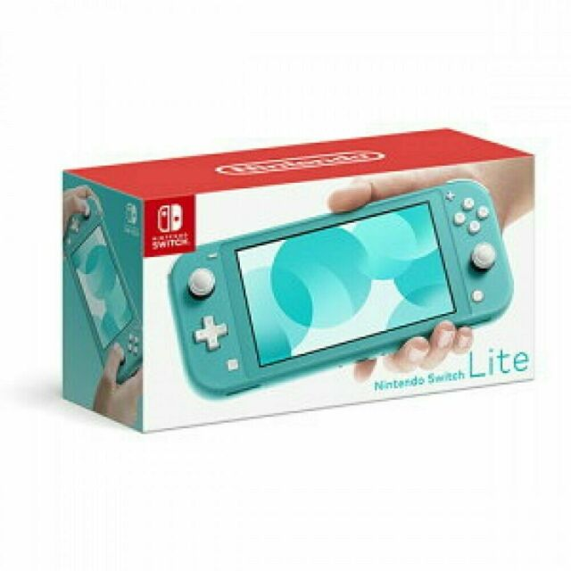Nintendo Switch Lite Handheld Console - Turquoise, Brand new