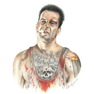 Wayne-Maguire-Tattooed-Die-Hard-McClane-Inked-Ikon-Canvas-Art-Print