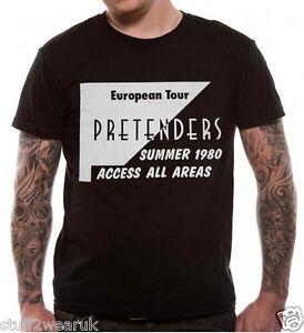OFFICIAL-The-Pretenders-Euro-Tour-T-Shirt-Summer-1980-Chrissie-Hynde-Precious