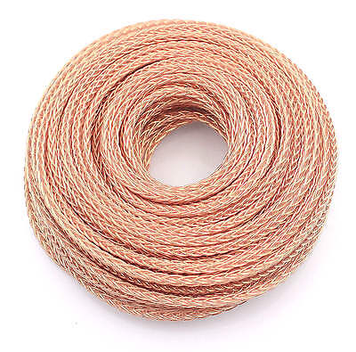 5m high purity OCC PTFE cable wire For HIFI audio Headphone speaker upgrade DIY