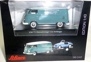 VW-T1c-Fourgonette-Kleinschnittger-M-Remorque-Automobile-Schuco-450374100-1-43