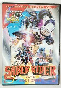 Saber-Rider-amp-the-Star-Sheriffs-VOLUME-1-New-Sealed-DVD-2008-VCI-Voltron-OOP