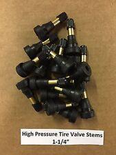 "Set of 25: High Pressure Brass Tire Valve Stems 1-1/4"" TR600HP TR600 USA SELLER"