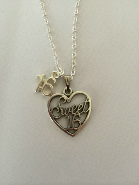 """16/"""" Suede Necklace With A Hammered Love heart Pendant Boho"""