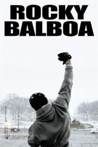 Details About X3 Rocky Balboa Inspirational Motivational Movie Print 30 24x36 40in Silk Poster