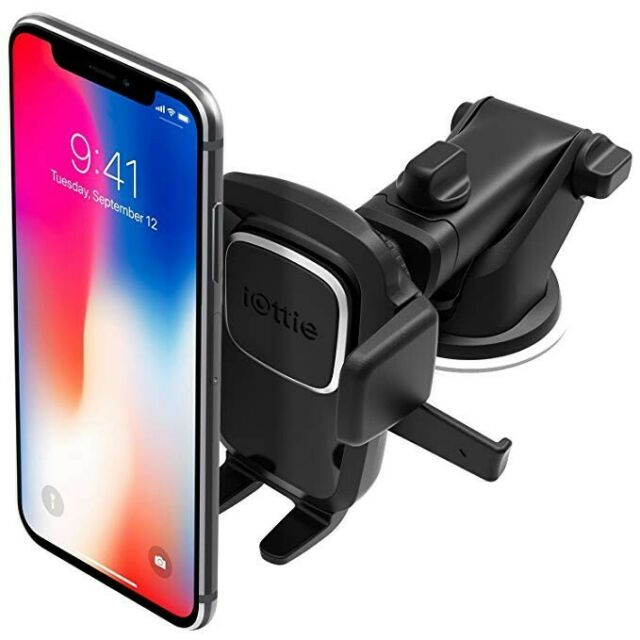 iOttie Easy Car Cradles & Mounts One Touch Dashboard Windshield Holder for Phone