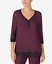 COLORS DKNY Colorblocked Pajama Top Details about  /SIZES