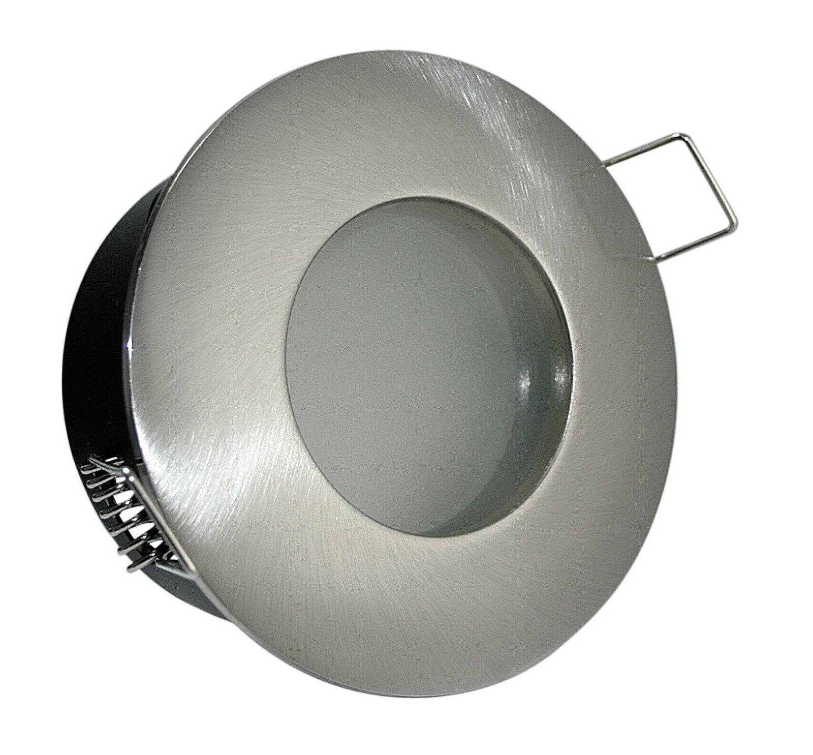 Badleuchte Aqua IP65 & GU10 5 Watt LED COB Downlight Badezimmer Dusche 230V