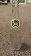 Vintage Glass Canada Dry Ginger Ale Bottle 16oz 1 Pint Clear