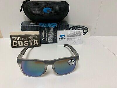 Costa Del Mar Spearo Matte Reef Blue Mirror 580 Glass 580G NEW