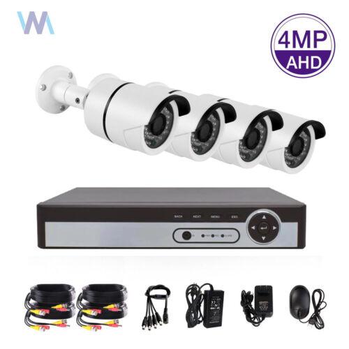 4MP 8CH 2560p HDMI DVR Megapixel HD CCTV IR-Cut Home Security Camera System