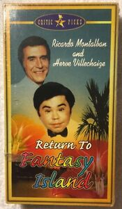 Return-To-Fantasy-Island-NEW-SEALED-VHS-Ricardo-Montalban-Herve-Villechaize