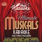 Ultimate Musicals Karaoke by Karaoke (CD, Oct-2008, 2 Discs, Avid)