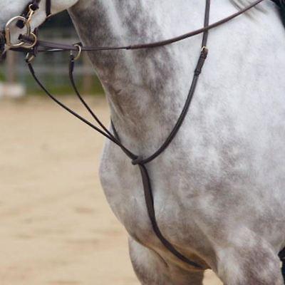 White Horse Equitazione Pony Equitazione Regolabile In Esecuzione In Pelle Kincade Da Corsa Di Qualità- Domanda Che Supera L'Offerta