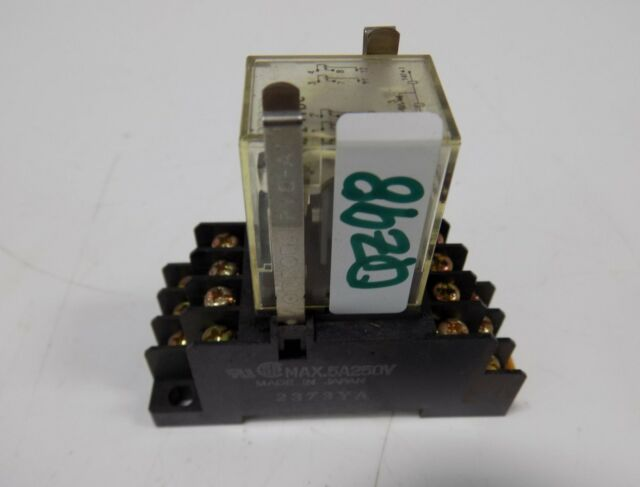 Omron MY2N-D2 Relay with Base Free Shipping Large Qty Available