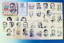 Famous Black People In History Game by Edu-Cards 1970 Martin Luthor King Jr 100%