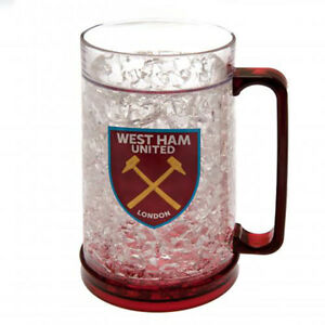 West Ham United F.C - Plastic Freezer Tankard - GIFT
