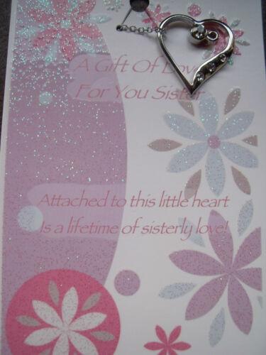 DAUGHTER GRANDMA GRANDDAUGHTER SISTER MORE WORDS FROM THE HEART PENDANT