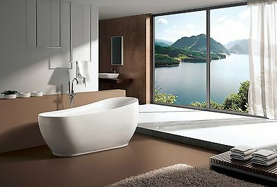 Selfless Freestanding Bathtub Ym-233 Refreshing And Beneficial To The Eyes Plumbing & Fixtures