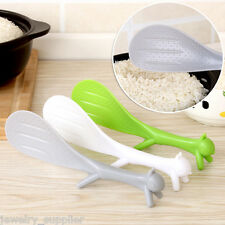 1PC Lovely Squirrel Style Plastic Spoon Non-stick Spoon Kitchen Dining Tool