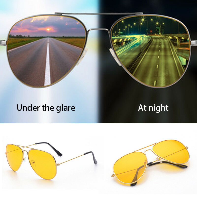 365b7f2002d Details about Yellow Lens Military Shooting Glasses Night Driving Sunglasses  100% UVA UVB NEW