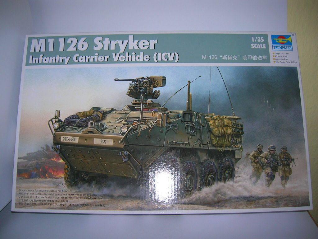Trumpeter M1 126 Stryker Infanterie Carrier Véhicule ( Icv ) de 1:3 5 Kit de ) 9adf05