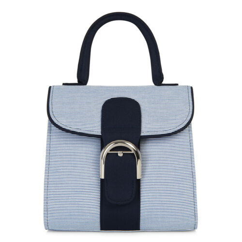 Matches Jessica Details about  /Ruby Shoo Women/'s Blue Stripe Fabric Riva Top Handle Bag