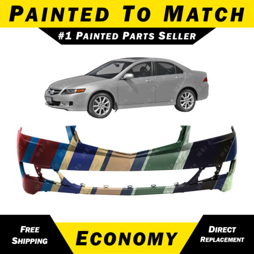 NEW Painted To Match Front Bumper Replacement for 2006-2008 Acura TSX Sedan